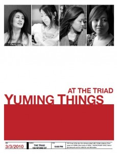 Yuming Things Program Cover